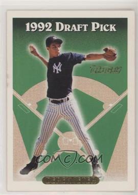 1993 Topps - [Base] - Gold #98 - Derek Jeter
