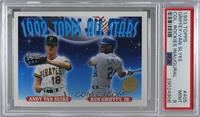 Andy Van Slyke, Ken Griffey Jr. [PSA 9 MINT]