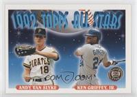Andy Van Slyke, Ken Griffey Jr.