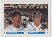 Johnny Oates, Bobby Cox