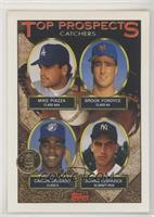 Mike Piazza, Brook Fordyce, Carlos Delgado, Donnie Leshnock [Poor to …