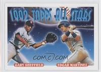 Gary Sheffield, Edgar Martinez