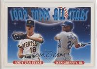 Andy Van Slyke, Ken Griffey Jr. [EXtoNM]