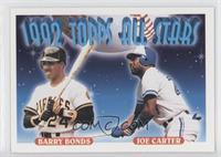 Barry Bonds, Joe Carter
