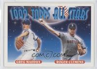 Greg Maddux, Roger Clemens