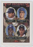 Mike Piazza, Brook Fordyce, Carlos Delgado, Donnie Leshnock [EXtoNM]