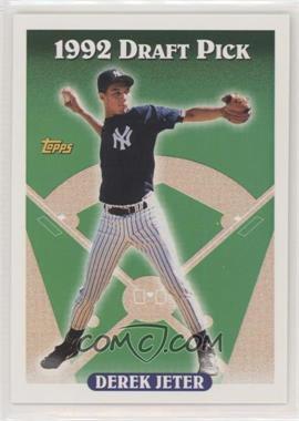 1993 Topps - [Base] #98.1 - Derek Jeter