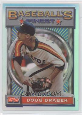 1993 Topps Finest - [Base] - Refractor #127 - Doug Drabek