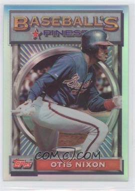 1993 Topps Finest - [Base] - Refractor #181 - Otis Nixon