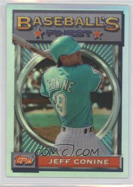 1993 Topps Finest - [Base] - Refractor #54 - Jeff Conine