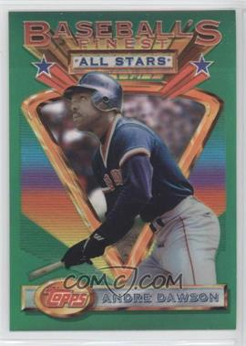 1993 Topps Finest - [Base] - Refractor #84 - Andre Dawson