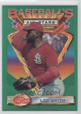 1993 Topps Finest - [Base] - Refractor #95 - Lee Smith