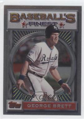 1993 Topps Finest - [Base] #63 - George Brett