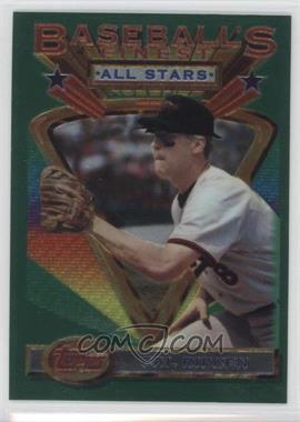 1993 Topps Finest - [Base] #96 - Cal Ripken Jr.