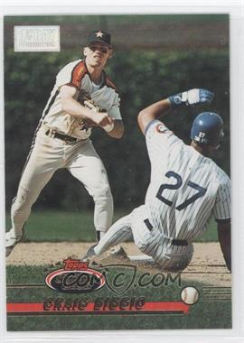 1993 Topps Stadium Club - [Base] - 1st Day Issue #183 - Craig Biggio