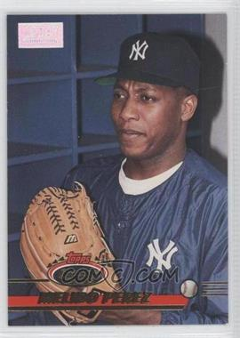 1993 Topps Stadium Club - [Base] - 1st Day Issue #465 - Melido Perez