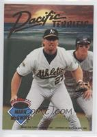 Mark McGwire, Will Clark