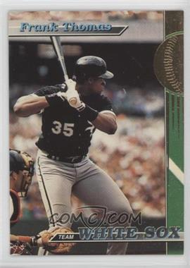 1993 Topps Stadium Club Teams Chicago White Sox 1 Frank Thomas