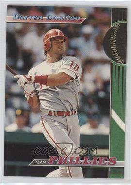 1993 Topps Stadium Club Teams - Philadelphia Phillies #1 - Darren Daulton