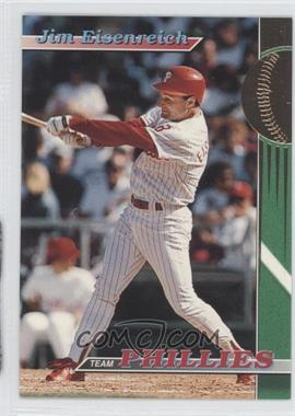 1993 Topps Stadium Club Teams - Philadelphia Phillies #7 - Jim Eisenreich
