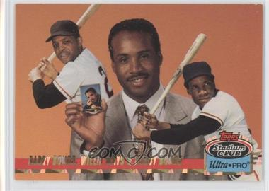 1993 Topps Stadium Club Ultra-Pro - Box Topper [Base] #1 - Willie Mays, Barry Bonds /150000