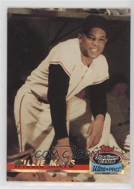 1993 Topps Stadium Club Ultra-Pro - Box Topper [Base] #2 - Willie Mays /150000