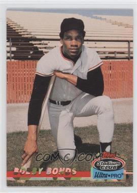 1993 Topps Stadium Club Ultra-Pro - Box Topper [Base] #3 - Bobby Bonds /150000