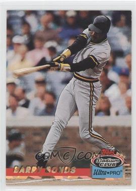 1993 Topps Stadium Club Ultra-Pro - Box Topper [Base] #4 - Barry Bonds /150000