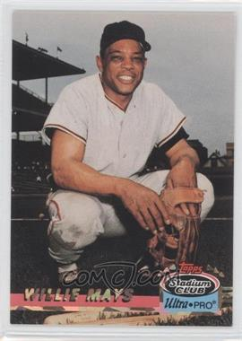 1993 Topps Stadium Club Ultra-Pro - Box Topper [Base] #6 - Willie Mays /150000