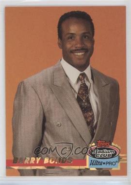 1993 Topps Stadium Club Ultra-Pro - Box Topper [Base] #7 - Barry Bonds /150000