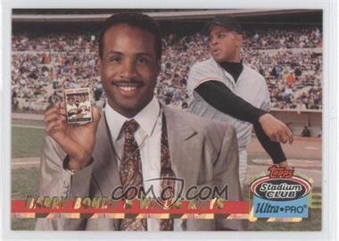 1993 Topps Stadium Club Ultra-Pro - Box Topper [Base] #8 - Barry Bonds, Willie Mays /150000