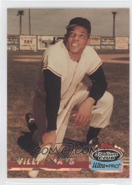1993 Topps Stadium Club Ultra-Pro - Box Topper [Base] #9 - Willie Mays /150000