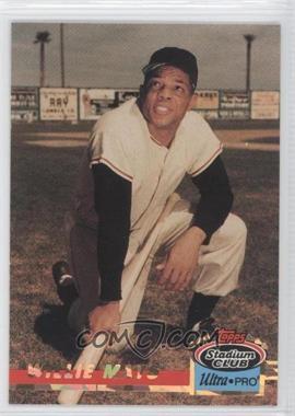 1993 Topps Stadium Club Ultra-Pro - Box Topper [Base] #9 - Willie Mays /150000