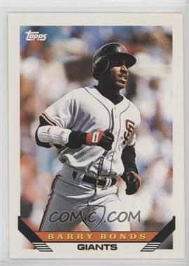 1993 Topps Traded - [Base] #1T - Barry Bonds