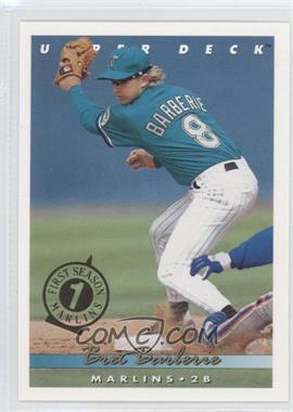 1993 Upper Deck - [Base] - Florida Marlins First Season #552 - Bret Barberie