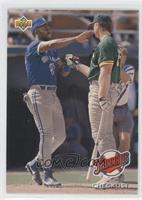 Teammates - Checklist (Joe Carter, Mark McGwire)
