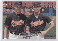 Teammates - Cal Ripken Jr., Brady Anderson