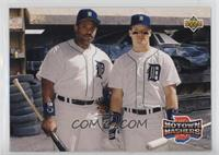 Teammates - Cecil Fielder, Mickey Tettleton
