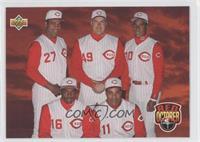Red October (Jose Rijo, Rob Dibble, Roberto Kelly, Reggie Sanders, Barry Larkin)