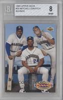 Teammates - Kevin Mitchell, Ken Griffey Jr., Jay Buhner [BGS8NMR…