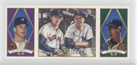 Ted Williams, Mickey Mantle [Noted]