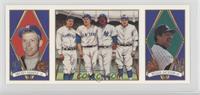 Mickey Mantle, Reggie Jackson, Lou Gehrig, Babe Ruth