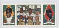 Hank Aaron, Willie Mays, Babe Ruth