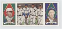 Rogers Hornsby, Ted Williams, Tris Speaker, Ty Cobb