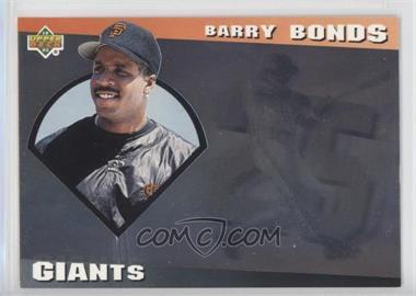 1993 Upper Deck Diamond Gallery - [Base] #11 - Barry Bonds /123600