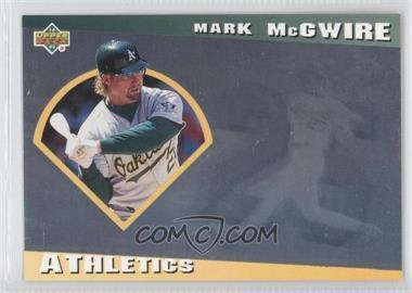 1993 Upper Deck Diamond Gallery - [Base] #3 - Mark McGwire /123600