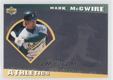 1993 Upper Deck Diamond Gallery - [Base] #3 - Mark McGwire /123600