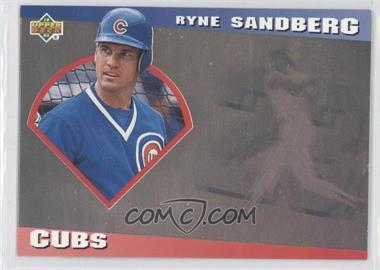 1993 Upper Deck Diamond Gallery - [Base] #8 - Ryne Sandberg /123600
