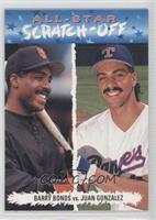 Barry Bonds vs. Juan Gonzalez