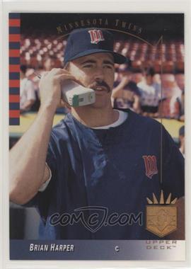1993 Upper Deck SP - [Base] #246 - Brian Harper